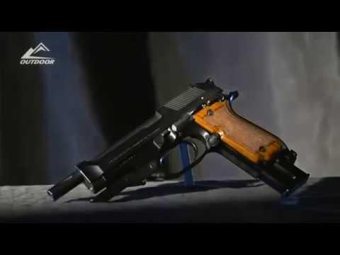 Пистолет Маузер К96 Mauser C96 против Беретты 93Р Beretta 93R