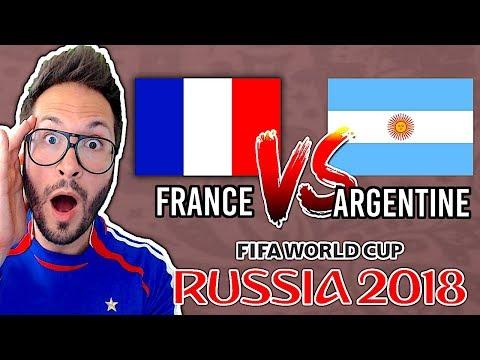 FRANCE vs ARGENTINE, TOUS LES BUTS DU MATCH ⚽️ COUPE DU MONDE 2018 - FIFA 18