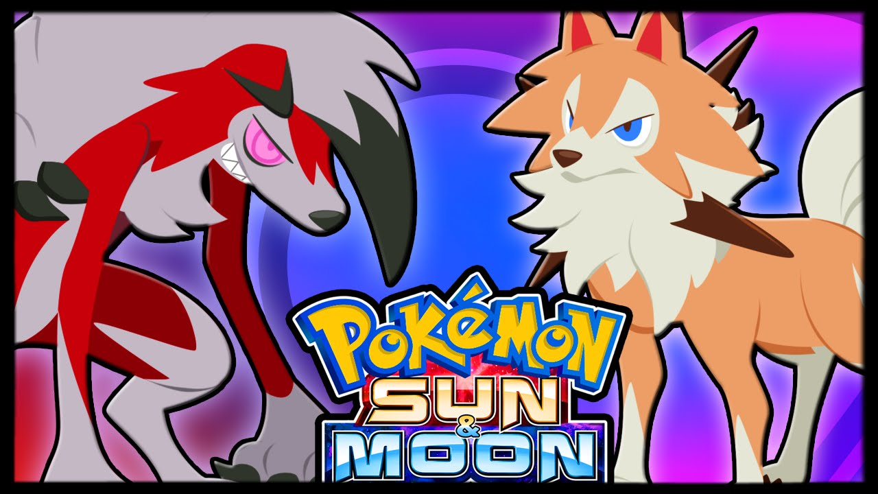 new day and night forms rockruff evolution pokémon sun and moon
