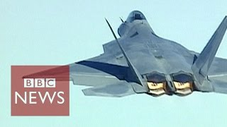 F22 Raptor - World's most advanced jet in 60 secs - BBC News