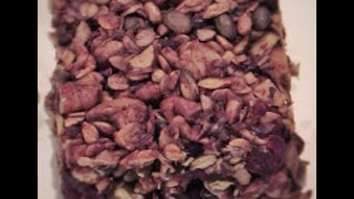 Healthy Chocolate Granola Bars- Mixed Nuts