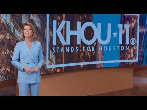 KHOU gets a visit from CBS Evening News Anchor Norah O'Donnell