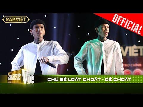 Cháy gắt: Dế Choắt ẵm 4 chọn & 2 Nón Vàng nhờ mang thơ Tố Hữu vào rap cực đỉnh|RAP VIỆT [Live Stage]