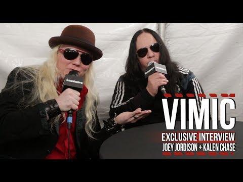 VIMIC's Joey Jordison + Kalen Chase on New Album + Future Plans