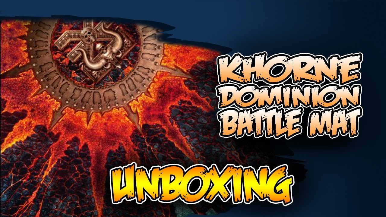 hot or not is khorne battle mat worth our time youtube