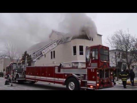 Cicero, IL Box Alarm Apartment Fire 1-11-16
