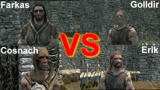 Skyrim Battle - Every Follower in a Free for All!!! thumbnail