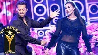 Iulia Vantur Makes Her Onstage DEBUT with Salman Khan's Songs