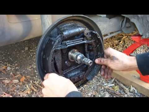 Замена колодок тормозных механизмов задних колёс на Daewoo Matiz 0.8L-1.0L МКПП и АКПП
