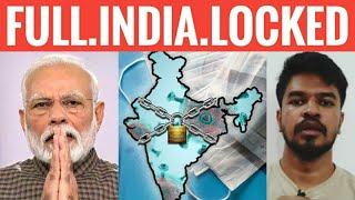 Full India Locked Down | Narendra Modi | Tamil | Madan Gowri