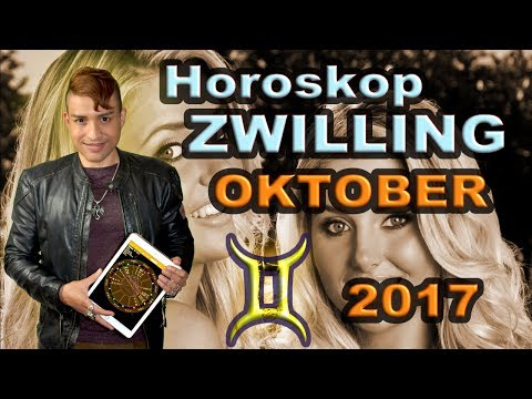 Zwilling Aszendent Horoskop Oktober 2017