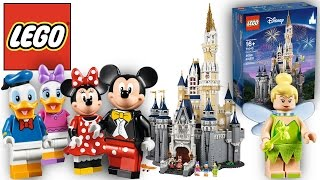 71040 The Disney Castle - Build of Castle and Minifigures (Official HD Images)