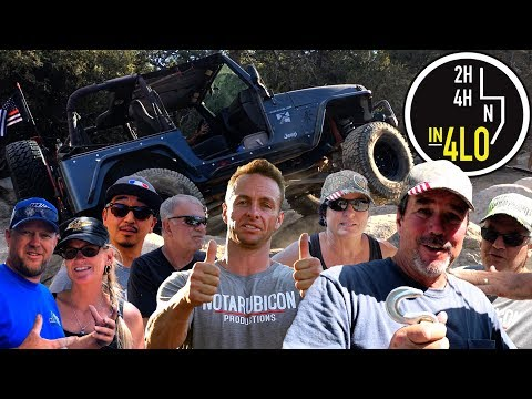 """John Bull Trail """"In 4LO"""" - Off Road Reality Television Made For YouTube"""