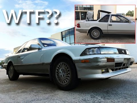 I Purchased a Very Rare Car at an Online Auction While Drunk  😳  - 1989 Toyota Soarer Aerocabin MZ20