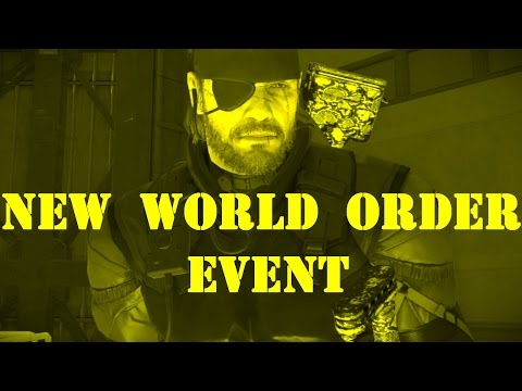 Metal Gear Solid 5 - Forward Operating Base Missions - Big Boss - New World Order Event (2016/11/29)