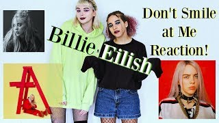 Billie Eilish | Don't Smile at Me | Reaction!