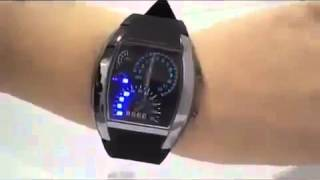 где купить наручные часы Спидометр(Наручные LED часы «СПИДОМЕТР» - аналог автомобильной панели! http://avtowatch.wacy.ru/ Часы содержат 30 ярких светодиодов..., 2014-05-20T15:19:49.000Z)