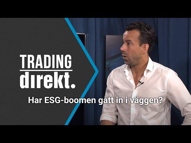 Trading Direkt 2021-05-21   Har ESG-boomen gått in i väggen? Nordeas råvaruanalytiker svarar