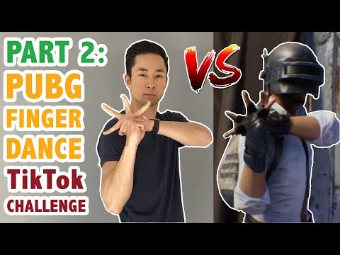 How To Do The PUBG Finger Dance Challenge Part 2 (Dance Tutorial #25.2) | Learn How To Dance