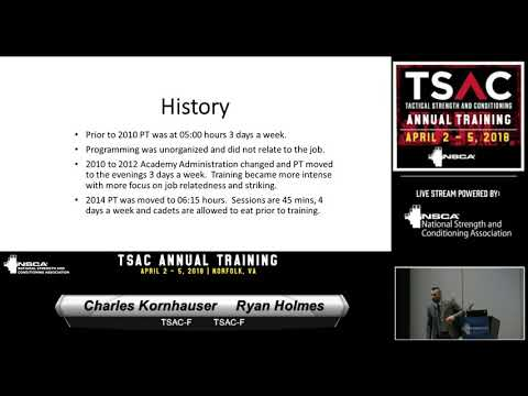 Building Injury Free Tactical Athletes, with Charles Kornhauser and Ryan Holmes | NSCA.com