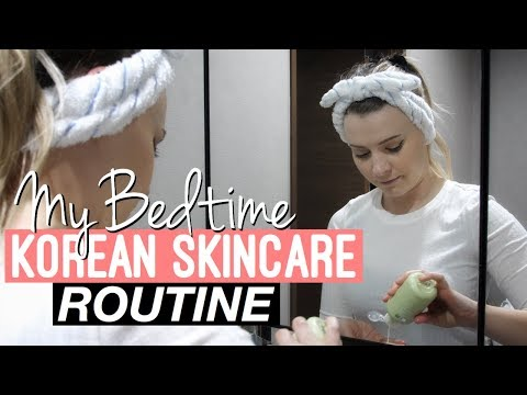My Bedtime Korean Skincare Routine | Get Unready With Me