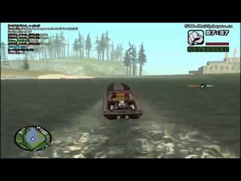 Grand Theft Auto San Andreas Samp Zásilka Drog HD 1080