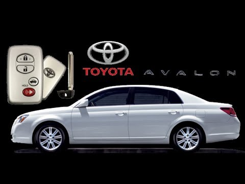 how to change battery in toyota avalon key fob