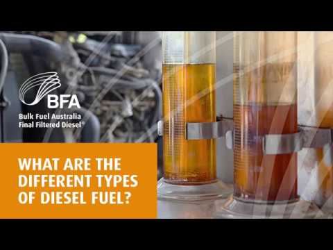 What are the different types of diesel fuel | Bulk Fuel Australia