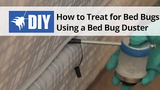 Bed Bug Treatment - Using Bed Bug Duster