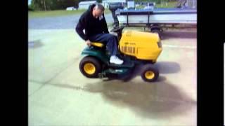 LASTBIDonline.com Yard Man riding mower May 9-12 online auction