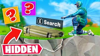 *NEW* HIDDEN Underground Chest Challenge in Fortnite!