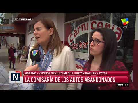 La comisaría de los autos abandonados en Moreno