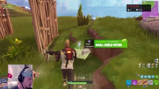 DUBS WITH SUBS // NEW GOLF CART - SKINS - MAP // FORTNITE S5 LIVESTREAM - PS4 - 79