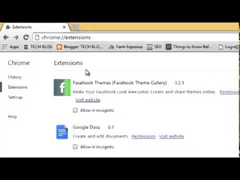 Enable Google Chrome Extensions In Incognito Mode Youtube