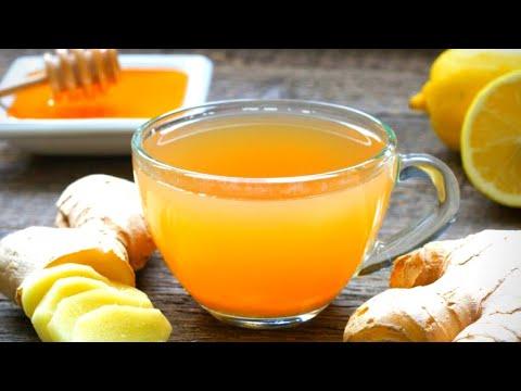 HOME REMEDY - Ginger Lemon Honey Tea Recipe - Cold & Flu Relief I HERBAL TEA For Cold & Cough