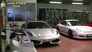 Maxi Sequestro Rolls Royce Ferrari Lamborghini da GDF Treviso