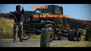 DAYZ SA | V3S Assault | BAD BOYS Perfect Action | FIRE CLAN
