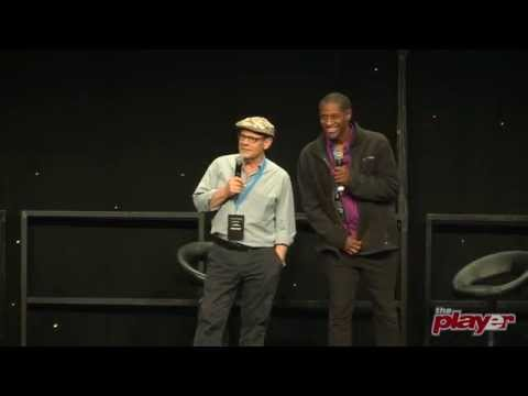 Ethan Phillips & Tim Russ  Destination Star Trek 3 2014