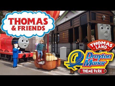 Thomas Land at Drayton Manor Theme Park, Tamworth in the United Kingdom