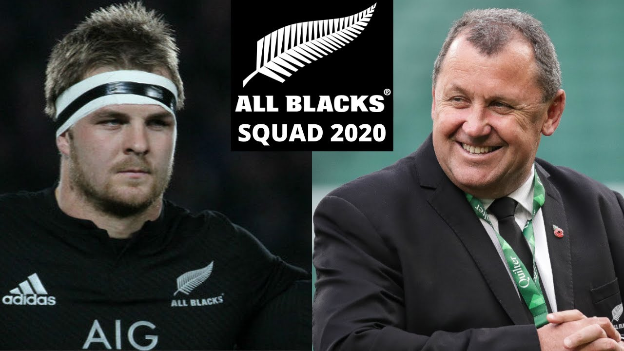 All Blacks 2020 Squad Review With A Twist Youtube