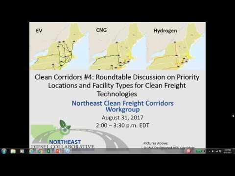 Clean Corridors Webinar #4  Round Table Discussion on Priority Locations and Facilities