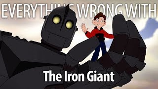 Everything Wrong With The Iron Giant In Superman Minutes Or Less