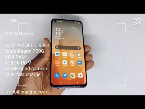OPPO Reno5: 360-degree hands-on look and specs of a beautiful super mid-range smartphone