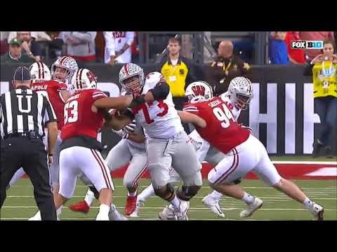 2017 - Big 10 Championship - Wisconsin Badgers vs Ohio State Buckeye in 40 Minutes