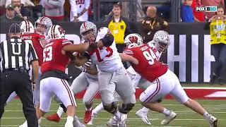 2017 - Big 10 Championship - Wisconsin Badgers vs Ohio State Buckeye in 40 Minutes