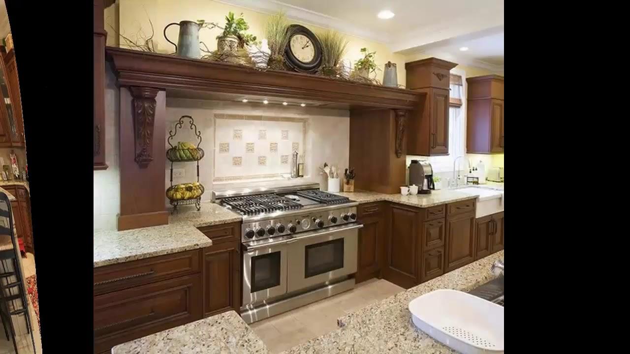 arriba del gabinete de cocina para decorar ideas para el