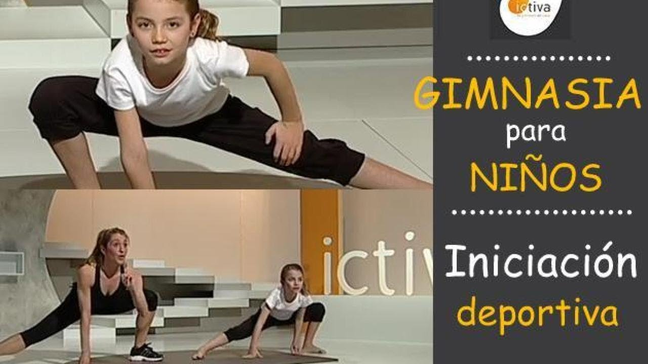 Gimnasia para ni os ejercicio f sico en casa para ni os - Ejercicios de gimnasio en casa ...