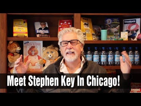 Meet Stephen Key at the Chicago Inventors Conference 10/21/17