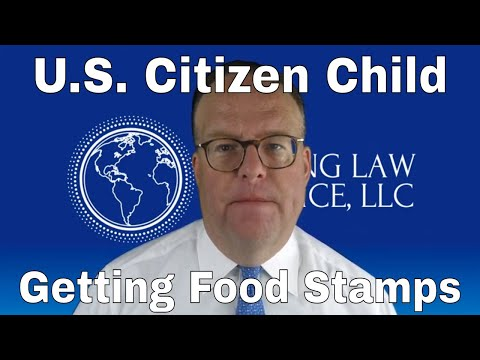 US Citizen Kids Getting Food Stamps