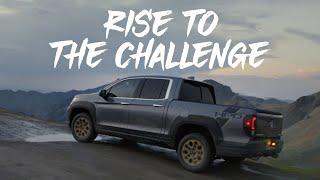 homepage tile video photo for La línea capaz de SUVs y camioneta de Honda -Supera los obstáculos